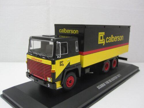 Scania 140 V8 Calberson Truck ixotru031_Jagersma_Miniaturen_Modelauto's