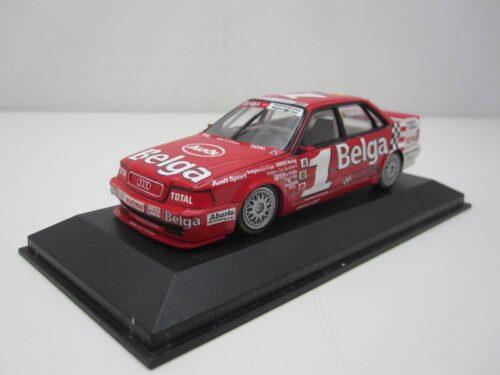 Audi_V8_Quattro_Evo_#1_Thibault_Belga_1993_min931120_Jagersma_Miniaturen_Modelauto's