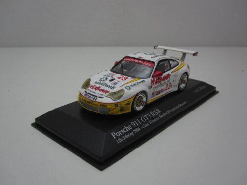 Porsche 911 GT3 RS #23 12h Sebring_2004_ mc400046423_Jagersma_Miniaturen_Modelauto's