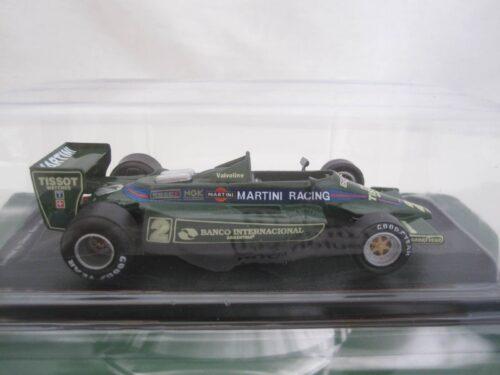 Lotus Team Lotus 79 Carlos Reutemann #2_Jagersma_Miniaturen_Modelauto's