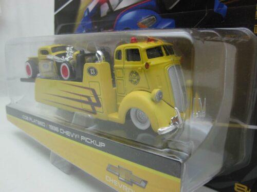 Studebaker_COE_met_Chevrolet_Pick_Up_1936_mai15055-08119_Jagersma_Miniaturen_Modelauto's