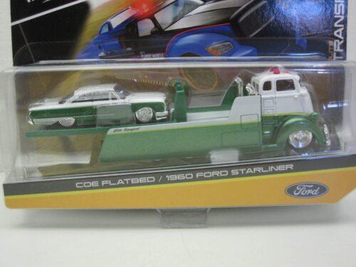 Studebaker_Coe_Flatbed_met_Ford_Starliner_mai15055-01_Jagersma_Miniaturen_Modelauto's