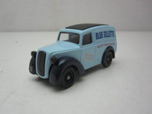 Morris_Z_Van_Blue_Gillette_1950_dg58004_Jagersma_Miniaturen_Modelauto's
