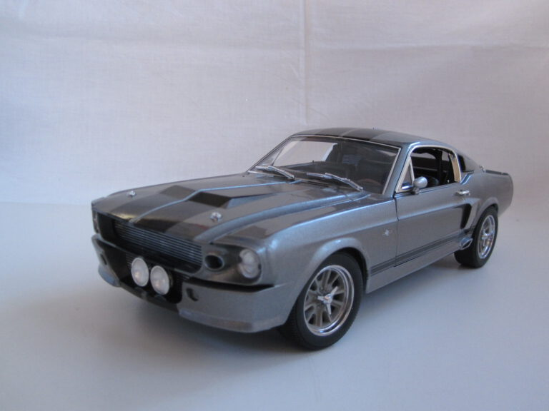 Shelby_GT_500E_Eleanor_Gone_in_60_seconds_1967_gl12909_Jagersma_Miniaturen_Modelauto's