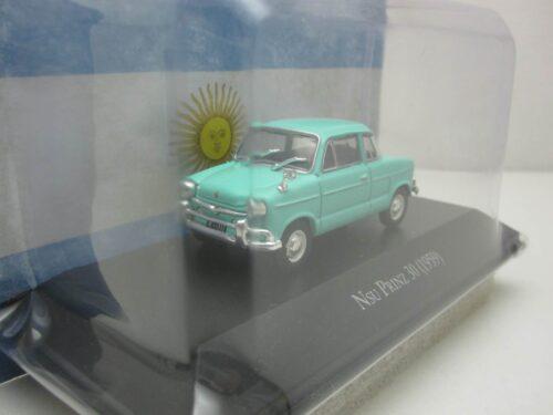 NSU_Prinz_30_1959_nsuprinz59turq_Jagersma_Miniaturen_Modelauto's