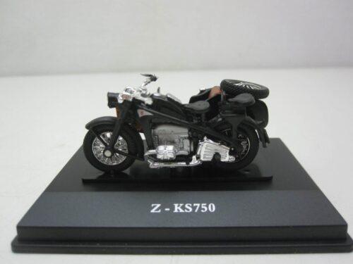 Zündapp_KS750_met_zijspan_crm92140bk_Jagersma_Miniaturen_Modelauto's