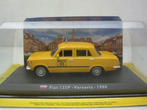 FSO_Polski_Fiat_125P_Warschau_Taxi_1980_FSO125P90tax_Jagersma_Miniaturen_Modelauto's