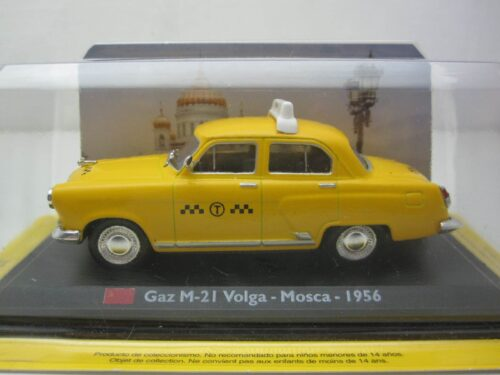 Gaz_M-21_Wolga_Moskou_Taxi_1956_gazm21tax56_Jagersma_Miniaturen_Modelauto's