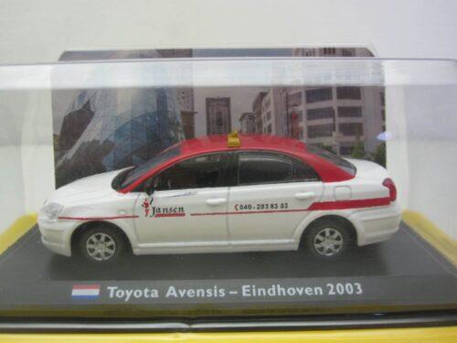 Toyota_Avensis_Eindhoven_Taxi_2003_toyAvensis03tax_Jagersma_Miniaturen_Modelauto's