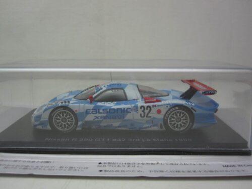 Nissan_R_390_GT1_#32_LeMans_3e_Suzuki_Hoshino_Kageyama_1998_spaNis32LM98_Jagersma_Miniaturen_Modelauto's