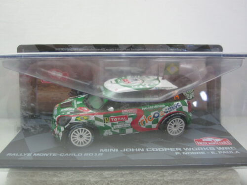 Mini_John_Cooper_Works_#14_Nobre_Paula_RMC_2012_MINI12rmc14_Jagersma_Miniaturen_Modelauto's