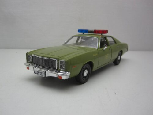 Plymouth_Fury_US_Army_Police_Kolonel_Decker_A-team_1977_gl84103_Jagersma_Miniaturen_Modelauto's