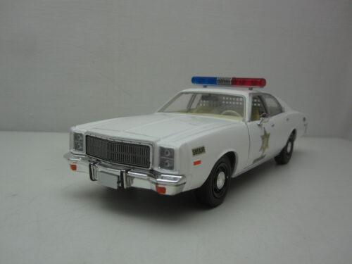 Plymouth_Fury_dukes_of_Hazzard_County_Police_1977_gl84095_Jagersma_Miniaturen_Modelauto's