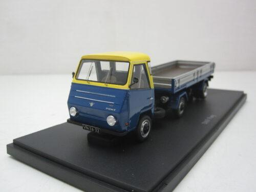 Daf_Pony_trekker_oplegger_1968_Autocult08010_Jagersma_Miniaturen_Modelauto's