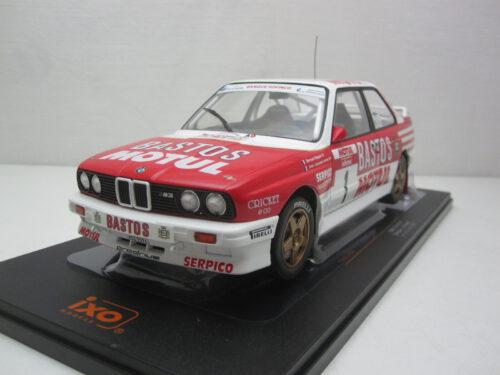 BMW_e30_M3_#1_Bastos_Tour_du_Corse_Beguin_Lenne_1988_ixo18rmc040c_Jagersma_Miniaturen_Modelauto's