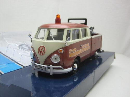 Volkswagen_VW_T1_Transporter_DoKa_Pick_Up_sleepwagen_1960_mmax79585tow_Jagersma_Miniaturen_Modelauto's