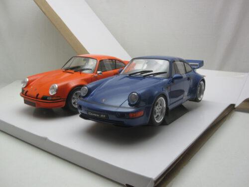 Porsche_911_RSR_1973_&_Porsche_964_RS_1990_soli180004_Jagersma_Miniaturen_Modelauto's