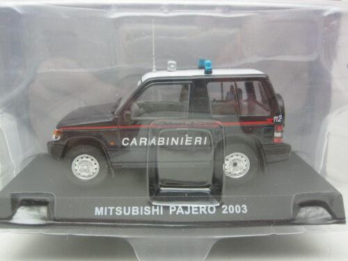 Mitsubishi_Pajero_Carabinieri_2003_MitsPajero03carab_Jagersma_Miniaturen_Modelauto's