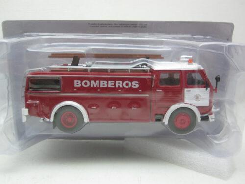 Pegaso_1091/1_Brandweer_1963_bomberos_Pegaso1091F63_Jagersma_Miniaturen_Modelauto's