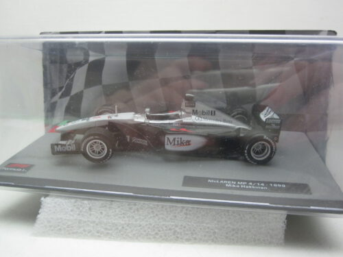 McLaren_MP4/14_#1_F1_Mika_Hakkinen_1999_mclar4/14g1bk99_Jagersma_Miniaturen_Modelauto's