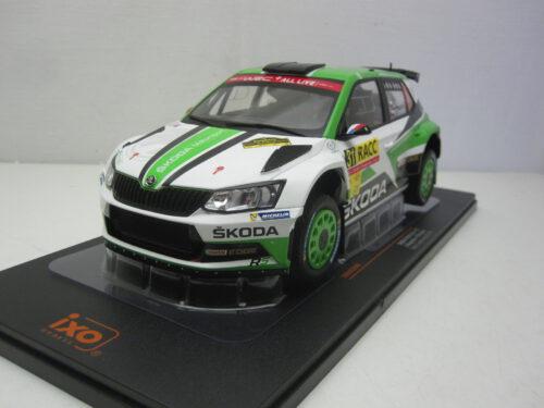 Skoda_Fabia_R5_#31_Rallye_rally_van_Catalonië_Kopecký_Dresler_2018_ixo18rmc050A_Jagersma_Miniaturen_Modelauto's