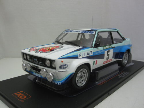 Fiat_131_Abarth_#5_Portugal_Rally_Walter_Röhrl_Christian_Geistdörfer_1980_ixo18rmc053B_Jagersma_Miniaturen_Modelauto's