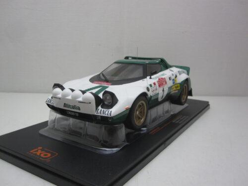 Lancia_Stratos_HF_#1_SanRemo_Rally_Munari_Mannucci_1975_ixo18rmc061A_Jagersma_Miniaturen_Modelauto's