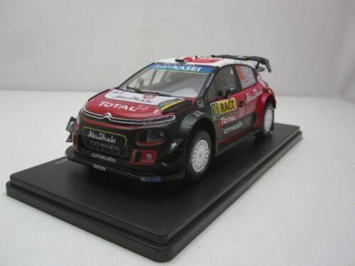 Citroën_C3_WRC_#10_Rally_RACC_Catalunya_S._Loeb_D._Elena_2018_mag24raC3_Jagersma_Miniaturen_Modelauto's