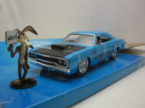 Plymouth_Roadrunner_Wile_E._Coyote_1970_jada32038_Jagersma_Miniaturen_Modelauto's